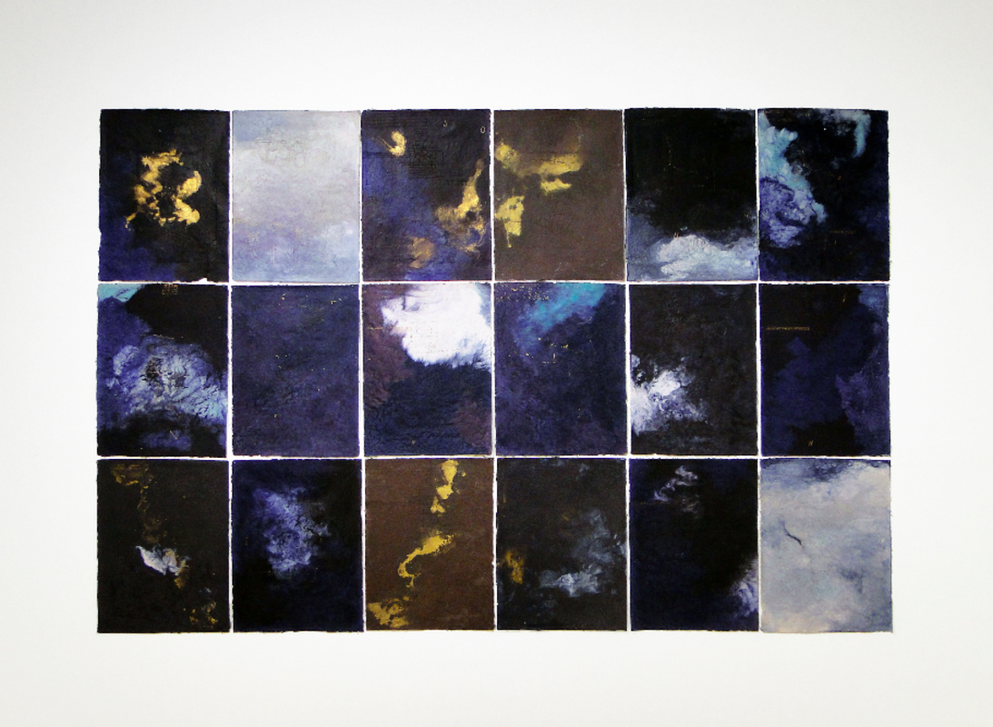 from de series Cartas-Papel, 2011. Cotton fiber paper and pigment