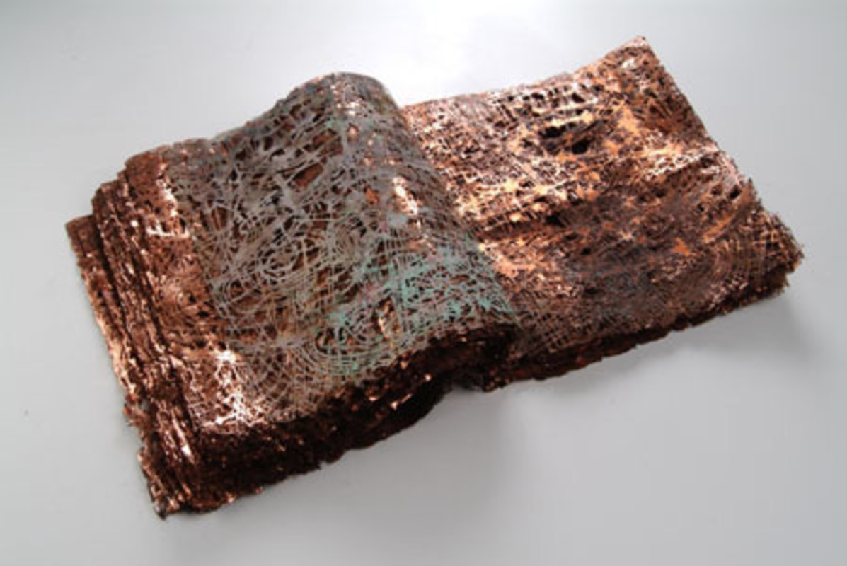 Untitled, 2010. Cooper, corrosion and oxidation
