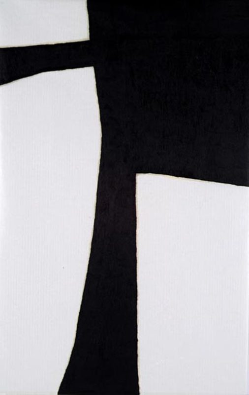 Untitled, 2007. Oil Stick on Paper, 163 x 107 cm