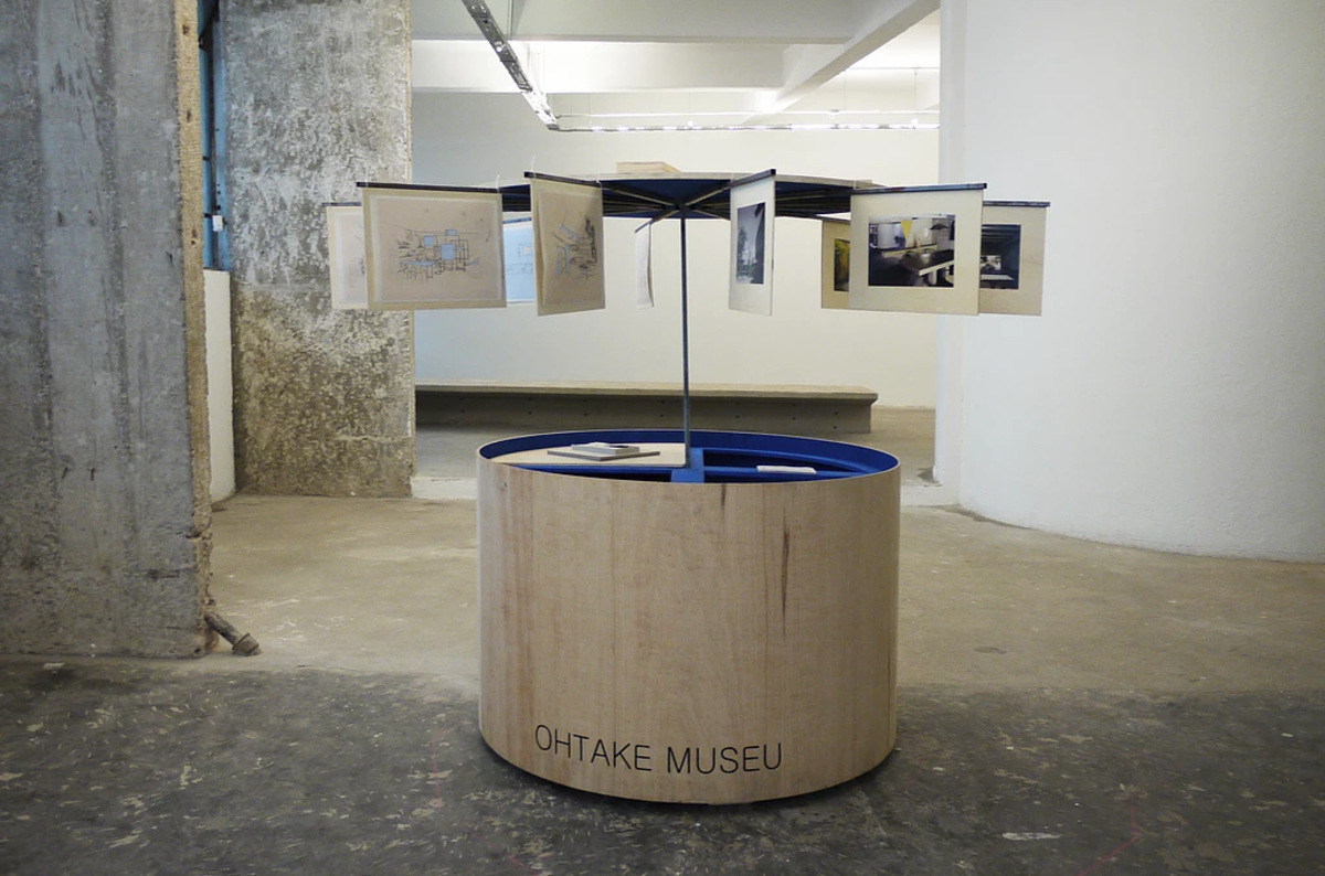 Ohtake Museu, 2015. Installation. Work produced with PROAC Visual Art Award 2015